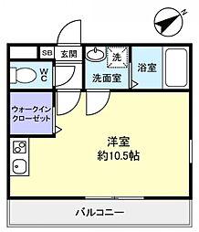 コンフォート大和田[2階]の間取り