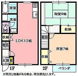 [テラスハウス] 長野県飯田市座光寺 の賃貸【/】の間取り