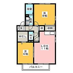 フローラティ[2階]の間取り