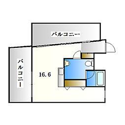 A−CROSS[1階]の間取り