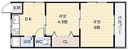 敷礼0円 駅近マンション[ラフィーネ日新 101号室]の外観