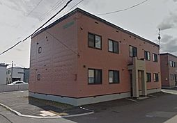 北海道札幌市東区北四十四条東5丁目の賃貸アパートの外観