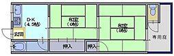 天南荘[35号室]の間取り