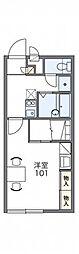 レオパレスサニーハウス[1階]の間取り
