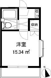 スリージェ桜ヶ丘I[201号室]の間取り