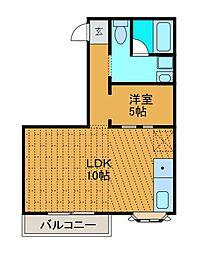 WAGAビル[2階]の間取り