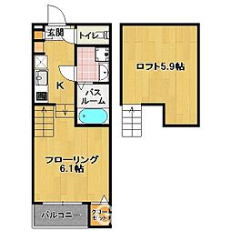 筥松4丁目 新築 TYPE-A[1階]の間取り