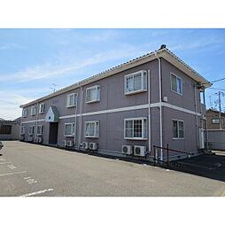 新潟県新潟市中央区鐙1丁目の賃貸アパートの外観