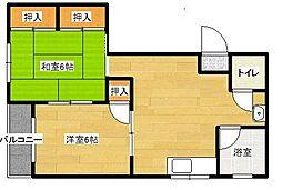 仙成ビル[4階]の間取り