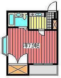 進正飯塚コーポ[1階]の間取り