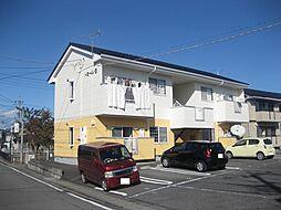 ドミールB[1階]の外観