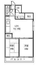 (HE) サクシードホームナミキ[3階]の間取り