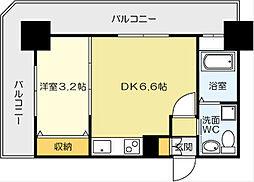 No.71 オリエントトラストタワー[8階]の間取り