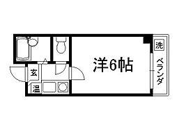 ラ・モンド[302号室]の間取り