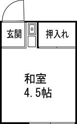 若松荘[1階]の間取り