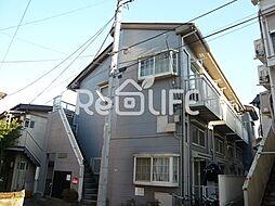 東京都国分寺市南町1丁目の賃貸アパートの外観