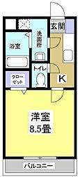 BONITO[4階]の間取り