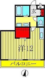 セレニティーホームズB棟[3階]の間取り