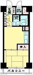 東京都大田区大森東2丁目の賃貸マンションの間取り