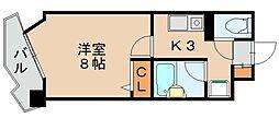 福岡県福岡市博多区吉塚8丁目の賃貸アパートの間取り