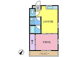 リーブハウス1[2階]の間取り