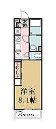 リブリ・草加[2階]の間取り