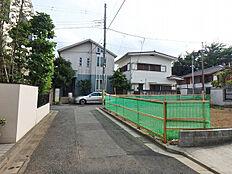 東側前面道路(南)