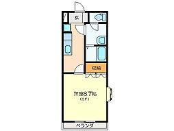 ミニーハウス[2階]の間取り