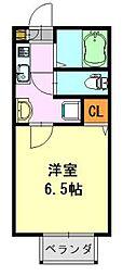 ms.II[2階]の間取り