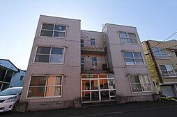 北海道札幌市厚別区厚別中央三条4丁目の賃貸マンションの外観