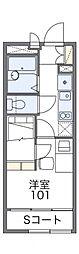 レオパレスSAKURAII[2階]の間取り