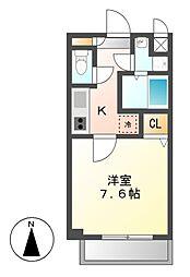 サニーウェル21[2階]の間取り