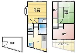 [一戸建] 兵庫県神戸市垂水区山手5丁目 の賃貸【/】の間取り