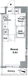 グロース西横浜2[3階]の間取り