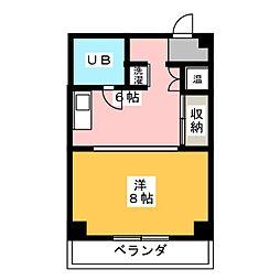 タカビル[4階]の間取り