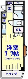 ピュアメゾンT&Y[101号室]の間取り