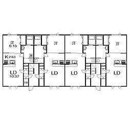 緑が丘東4−1新築[101号室]の外観