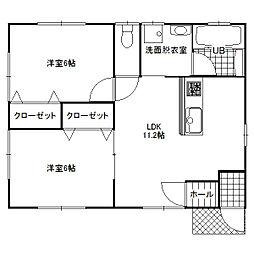 [一戸建] 千葉県香取市佐原ホ の賃貸【/】の間取り