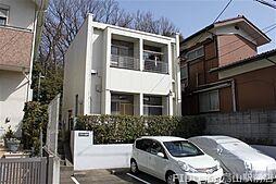 東京都調布市緑ケ丘1丁目の賃貸マンションの外観