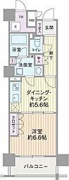 エル・セレーノ上本町レジデンス(Cタイプ)[15階]の間取り