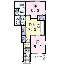 志村横丁IV[1階]の間取り