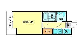 エステートモア博多II[3階]の間取り