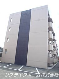 第1コーポHAMADA[4階]の外観