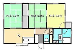 [一戸建] 神奈川県中郡大磯町高麗2丁目 の賃貸【神奈川県 / 中郡大磯町】の間取り