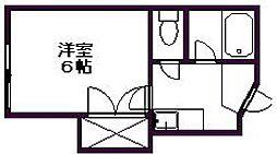 コーポソフィア[2階]の間取り