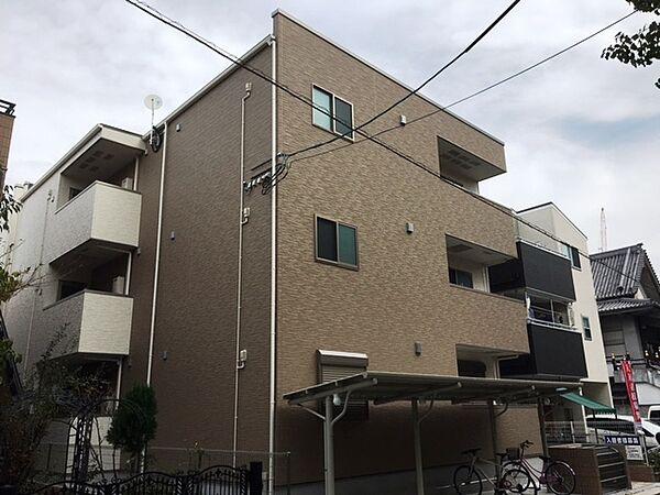 兵庫県尼崎市東大物町1丁目の賃貸アパートの外観
