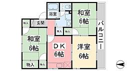 セジュール関谷A棟[102号室]の間取り