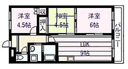 フローラル マンション[1階]の間取り