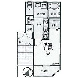 セリカハウス[1階]の間取り