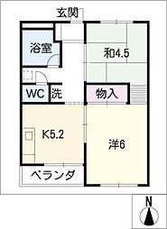 ヤマコ第一ビル[5階]の間取り
